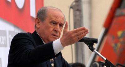 MHP Genel Başkanı Devlet Bahçeli Tekirdağ'ın Çorlu İlçesinde
