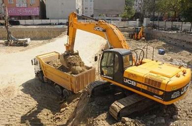 Tekirdağ Çorlu'da Santral Kavşağına Yeni Otopark Yapılmaya Başlandı