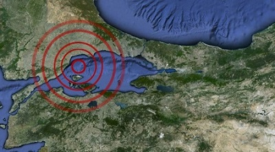 Tekirdağ Marmara Ereğlisinde Deprem