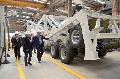 24. Sanayi Tesisi Ziyaretini Vali Yerlikaya Elkon Makinede Gerçekleştirdi